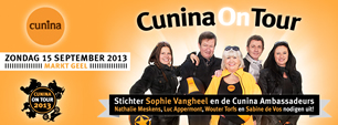 Cunina On Tour, 15 September, Geel